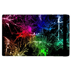 Color Fun 03b Apple Ipad 3/4 Flip Case by MoreColorsinLife