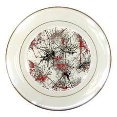 Color Fun 03d Porcelain Plates by MoreColorsinLife
