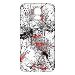 Color Fun 03d Samsung Galaxy S5 Back Case (white) by MoreColorsinLife