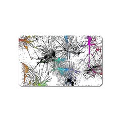 Color Fun 03f Magnet (name Card) by MoreColorsinLife