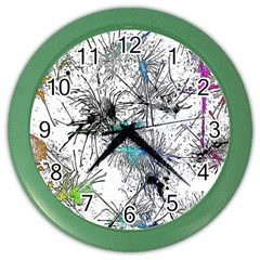 Color Fun 03f Color Wall Clocks by MoreColorsinLife