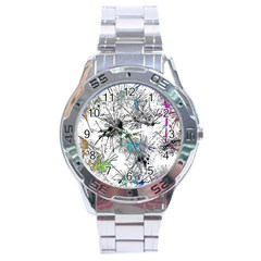 Color Fun 03f Stainless Steel Analogue Watch by MoreColorsinLife