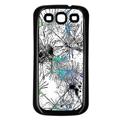 Color Fun 03f Samsung Galaxy S3 Back Case (black) by MoreColorsinLife