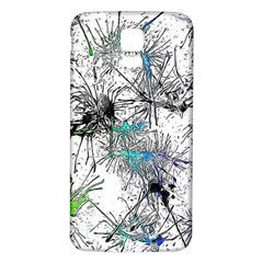 Color Fun 03f Samsung Galaxy S5 Back Case (white) by MoreColorsinLife