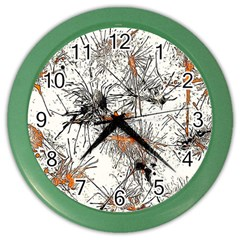 Color Fun 03e Color Wall Clocks by MoreColorsinLife