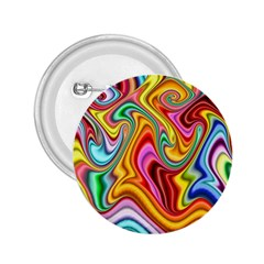 Rainbow Gnarls 2 25  Buttons by WolfepawFractals