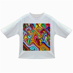 Rainbow Gnarls Infant/toddler T Shirts by WolfepawFractals