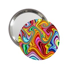 Rainbow Gnarls 2 25  Handbag Mirrors by WolfepawFractals