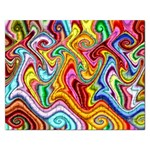 Rainbow Gnarls Rectangular Jigsaw Puzzl Front