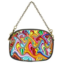 Rainbow Gnarls Chain Purses (two Sides)  by WolfepawFractals