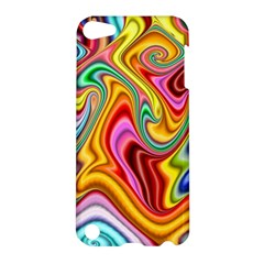 Rainbow Gnarls Apple Ipod Touch 5 Hardshell Case by WolfepawFractals