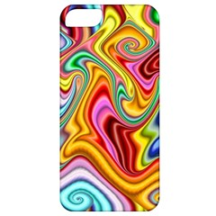 Rainbow Gnarls Apple Iphone 5 Classic Hardshell Case by WolfepawFractals