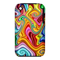 Rainbow Gnarls Iphone 3s/3gs by WolfepawFractals