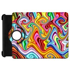 Rainbow Gnarls Kindle Fire Hd 7  by WolfepawFractals