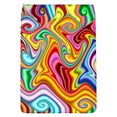 Rainbow Gnarls Flap Covers (l)  by WolfepawFractals