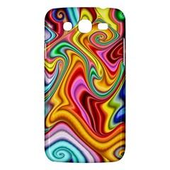 Rainbow Gnarls Samsung Galaxy Mega 5 8 I9152 Hardshell Case  by WolfepawFractals