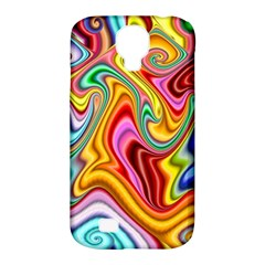 Rainbow Gnarls Samsung Galaxy S4 Classic Hardshell Case (pc+silicone) by WolfepawFractals