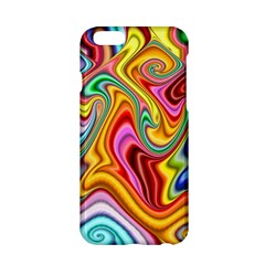 Rainbow Gnarls Apple Iphone 6/6s Hardshell Case by WolfepawFractals