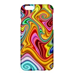 Rainbow Gnarls Apple Iphone 6 Plus/6s Plus Hardshell Case by WolfepawFractals