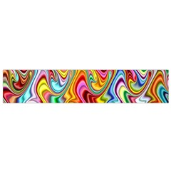 Rainbow Gnarls Flano Scarf (small) by WolfepawFractals