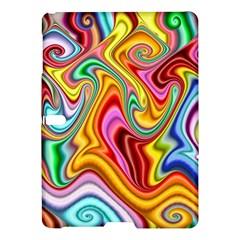 Rainbow Gnarls Samsung Galaxy Tab S (10 5 ) Hardshell Case  by WolfepawFractals
