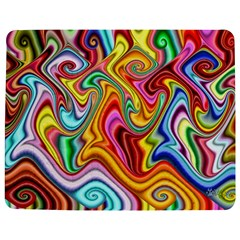Rainbow Gnarls Jigsaw Puzzle Photo Stand (rectangular) by WolfepawFractals