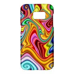 Rainbow Gnarls Samsung Galaxy S7 Hardshell Case