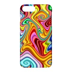 Rainbow Gnarls Apple Iphone 7 Plus Hardshell Case by WolfepawFractals