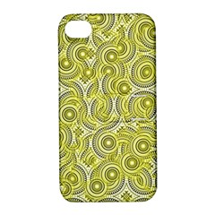 Broken Pattern D Apple Iphone 4/4s Hardshell Case With Stand by MoreColorsinLife
