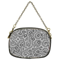 Broken Pattern F Chain Purses (two Sides)  by MoreColorsinLife