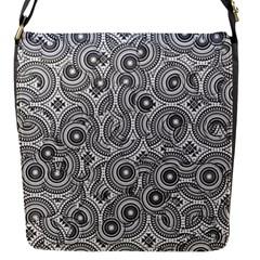 Broken Pattern F Flap Messenger Bag (s) by MoreColorsinLife