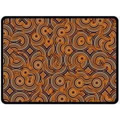 Broken Pattern A Fleece Blanket (large)  by MoreColorsinLife
