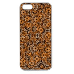Broken Pattern A Apple Seamless Iphone 5 Case (clear) by MoreColorsinLife