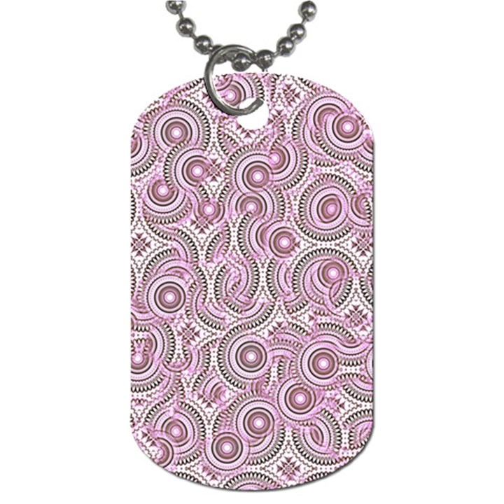 Broken Pattern E Dog Tag (Two Sides)