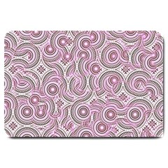 Broken Pattern E Large Doormat  by MoreColorsinLife
