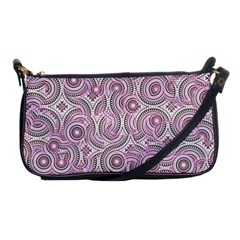 Broken Pattern E Shoulder Clutch Bags by MoreColorsinLife