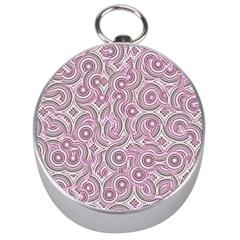 Broken Pattern E Silver Compasses by MoreColorsinLife
