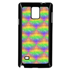 Painted Rainbow Pattern Samsung Galaxy Note 4 Case (black)