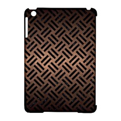 Woven2 Black Marble & Bronze Metal (r) Apple Ipad Mini Hardshell Case (compatible With Smart Cover) by trendistuff