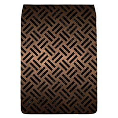 Woven2 Black Marble & Bronze Metal (r) Removable Flap Cover (s) by trendistuff