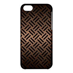 Woven2 Black Marble & Bronze Metal (r) Apple Iphone 5c Hardshell Case by trendistuff
