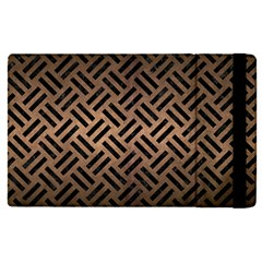 Woven2 Black Marble & Bronze Metal (r) Apple Ipad Pro 9 7   Flip Case by trendistuff