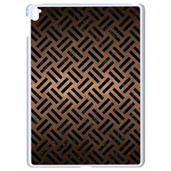 Woven2 Black Marble & Bronze Metal (r) Apple Ipad Pro 9 7   White Seamless Case by trendistuff