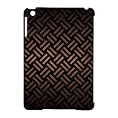 Woven2 Black Marble & Bronze Metal Apple Ipad Mini Hardshell Case (compatible With Smart Cover) by trendistuff