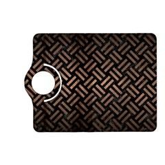 Woven2 Black Marble & Bronze Metal Kindle Fire Hd (2013) Flip 360 Case by trendistuff