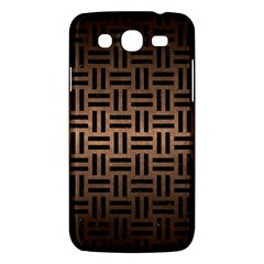 Woven1 Black Marble & Bronze Metal (r) Samsung Galaxy Mega 5 8 I9152 Hardshell Case  by trendistuff