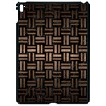 WOVEN1 BLACK MARBLE & BRONZE METAL Apple iPad Pro 9.7   Black Seamless Case Front