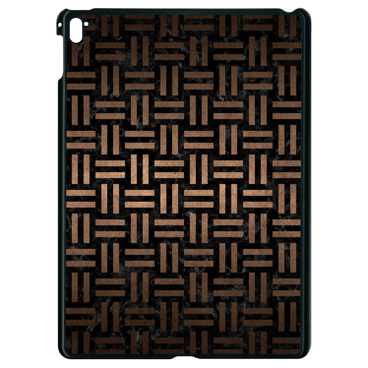 WOVEN1 BLACK MARBLE & BRONZE METAL Apple iPad Pro 9.7   Black Seamless Case