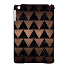 Triangle2 Black Marble & Bronze Metal Apple Ipad Mini Hardshell Case (compatible With Smart Cover) by trendistuff