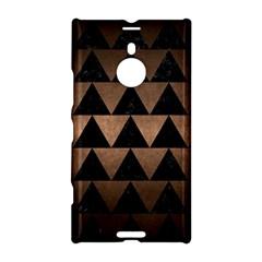 Triangle2 Black Marble & Bronze Metal Nokia Lumia 1520 Hardshell Case by trendistuff